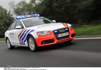 E40 Snelweg Terug Vrij Na Ongeval Richting Binnenland Regio